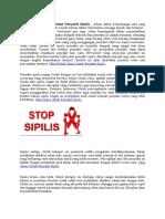 Ramuan Obat Alami Untuk Penyakit Sipilis