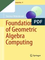 Dietmar Hildenbrand-Foundations of Geometric Algebra Computing