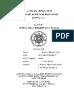 Geografi Regional Indonesia Acara 1