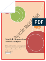 Multiple Regression Model Analysis