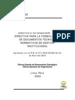 DirectivadeNormasTécnicas