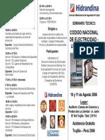 Triptico CNE Utilizacion 2006