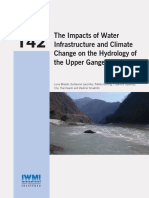 IWMI Research Report- The Impacts of Water Infrastructure and Climate Change on the Hydrology of the Upper Ganges River Basin.pdf