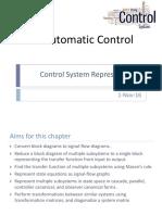 03 Automatic Control Control System Representation