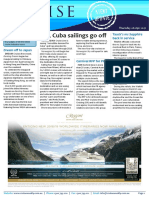 Cruise Weekly for Thu 06 Apr 2017 - More NCL Cuba sailings, U by Uniworld, Azamara, Dream, Tauck, AIDA