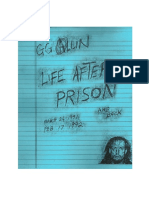Life After Prison - Murder Junkies Tour Diary