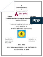 Axis Bank Manish Harshwal
