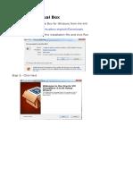 Installing Virtual Box