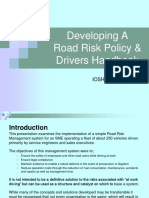 Road Risk Policy Drivers Hbook IOSH