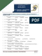 Guía Examen Extraordinario Geometría y Trigonometría
