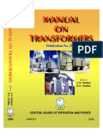 CBIP Manual on Transformer (Publication No 295)