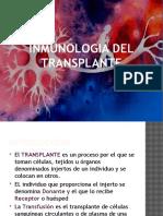 Inmunologia Del Tranplante
