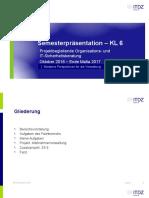 Semesterpräsentation KL6
