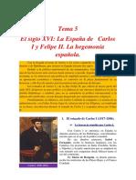 El Siglo XVI