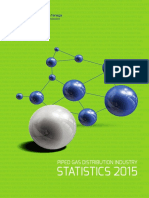 Piped Gas Distribution Industry Statistics 2015