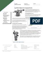 Printing Roller Alignment Using Jig Transits __ Electro-Optical Metrology __ Spectrum Metrology