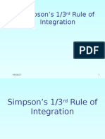 Simpson1by3
