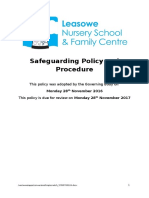 Safeguarding Policy and Procedure NOVEMBER 2016