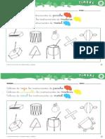 Ficha Familias de Instrumentos