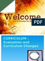Curiculum Evaluation