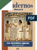 Cuadernos Historia 16, Nº 064 - Los Sacerdotes Egipcios