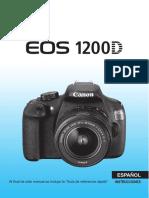 EOS 1200D Instruction Manual ES