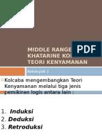 Kelompok 2 Middle Range Theory Khatarine Kolcaba Teori Kenyamanan