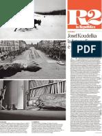 Josef Koudelka - 2017-04-06 La Repubblica