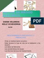 FACTOR de RIESGO ELECTRICO Mantenimiento Preventivo