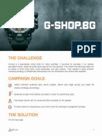 AdTradr G-shop Case Study