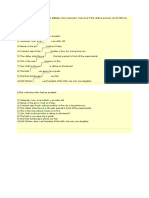 Exercises on Relative Pronouns