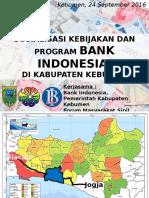 Sosialisasi Bank Indonesia DPR RI Formasi