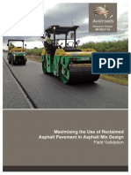 AP-R517-16-Maximising the Use of Reclaimed Asphalt Pavement in Asphalt Mix Design Field Validation
