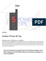 Another 5 Power BI Tips _ SQL With Dustin Ryan