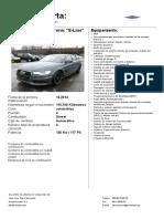 Audi a6 2.0 Tdi Multitr S-line Ref25 1701abv