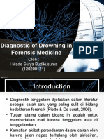 Diagnostic of Drowning in Forensic Medicine