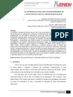 A Utilização Da Informática Educativa Por Professores de Matemática-um Estudo de Caso Da Cidade de Bananalsp