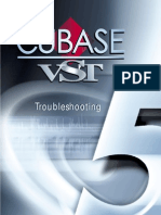 Troubleshooting Cubase VST 5