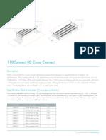 110XC Cross Connect Blocks