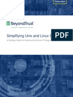 Wp Simplifying Unix and Linux Security