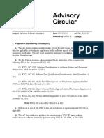 FAA Advisory Circular 20-115C