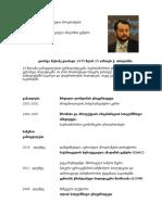 Giorgi Rukhadze Short CV GEO
