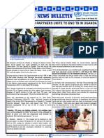 VOL 5 Issue 8-GOVERNMENT AND PARTNERS UNITE TO END TB IN UGANDA.pdf