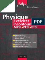 MPSI PCSI PTSI Exercices Incontournables