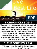 Live Your Best Life Now Bishop Wisdom 03.26.17