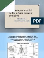 Ingrijirea Pacientului Cu Poliartrita Cronica Evolutiva