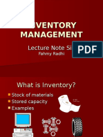 LN06 Inventory Management