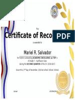 Academic Award Cert Zal 2nd Grading - Copy