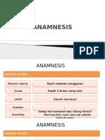 Anamnesis Dan PJ CA Serviks