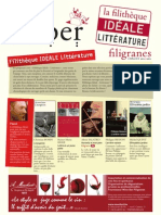 Filigranes_Filithèque_Idéale_Littérature